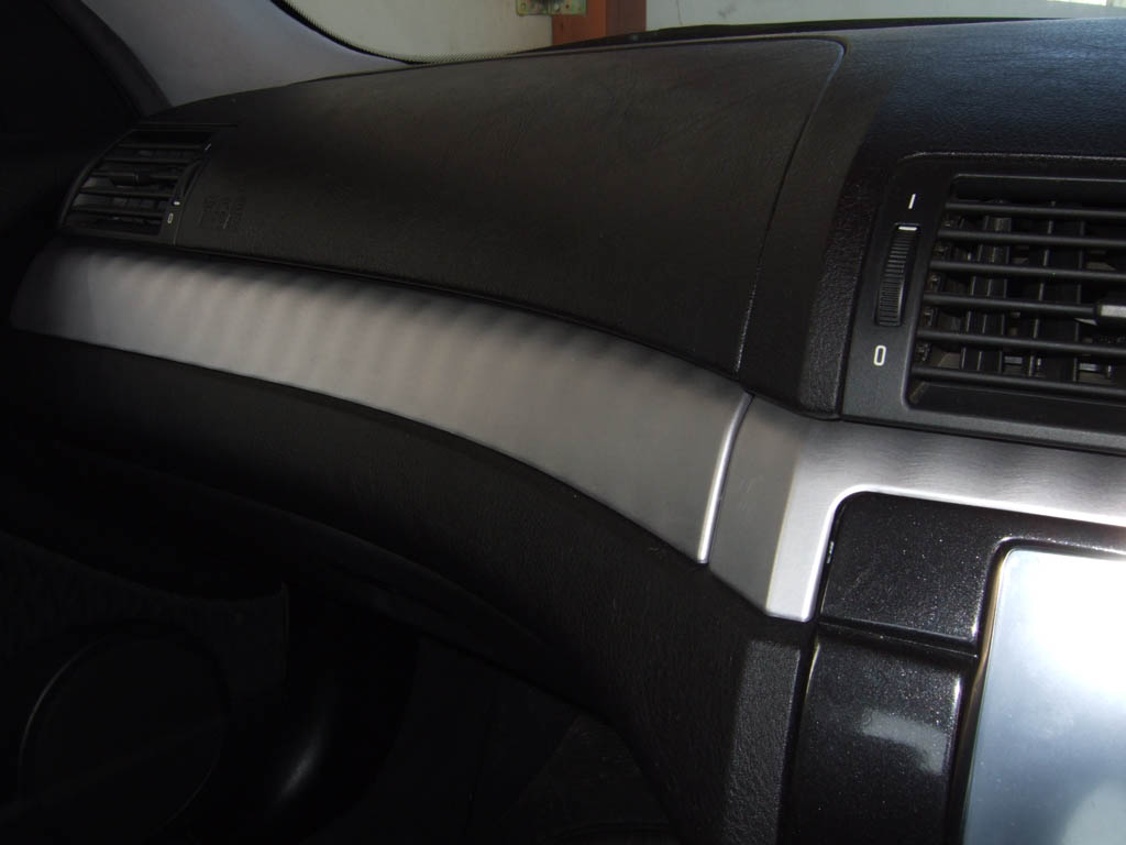 Aluminum Brushed Columns Interior Trim E46fanatics