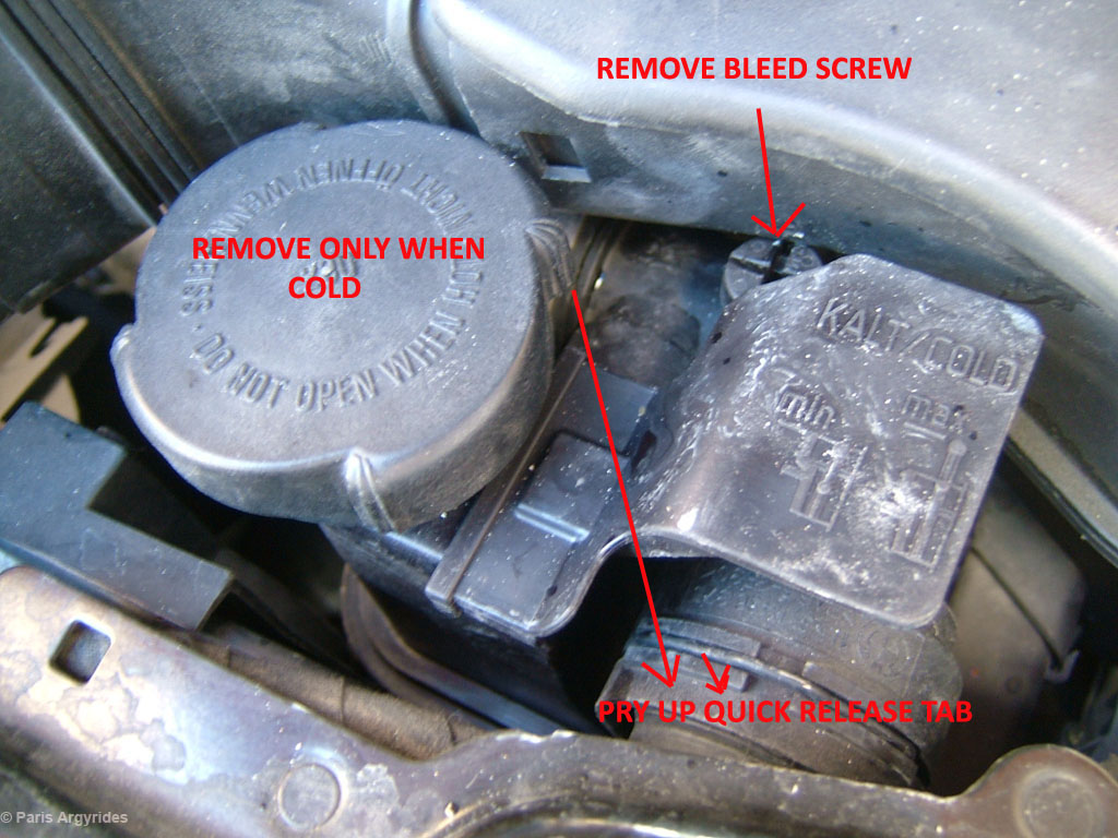 Water Pump, Tensioners, Expansion Tank Replacement & Coolant