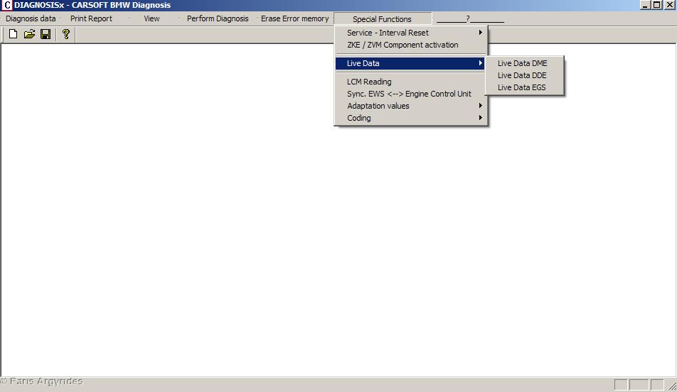 OBD II Live Engine Data